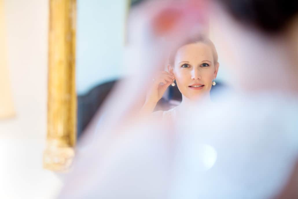 bride getting ready jasna polana