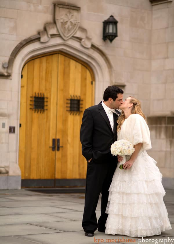 Princeton wedding portrait, photographed by Princeton wedding photographer Kyo Morishima