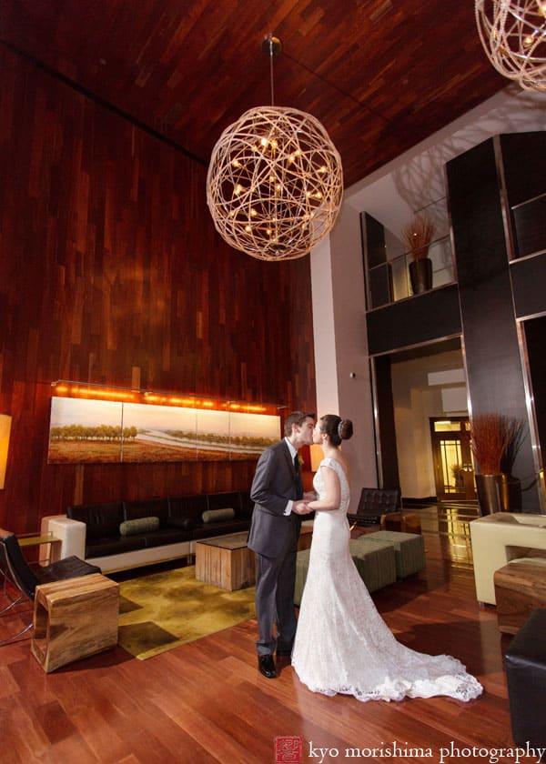 Wedding Portrait At The Hyatt New Brunswick Photographed By Nj Photographer Kyo Morishima