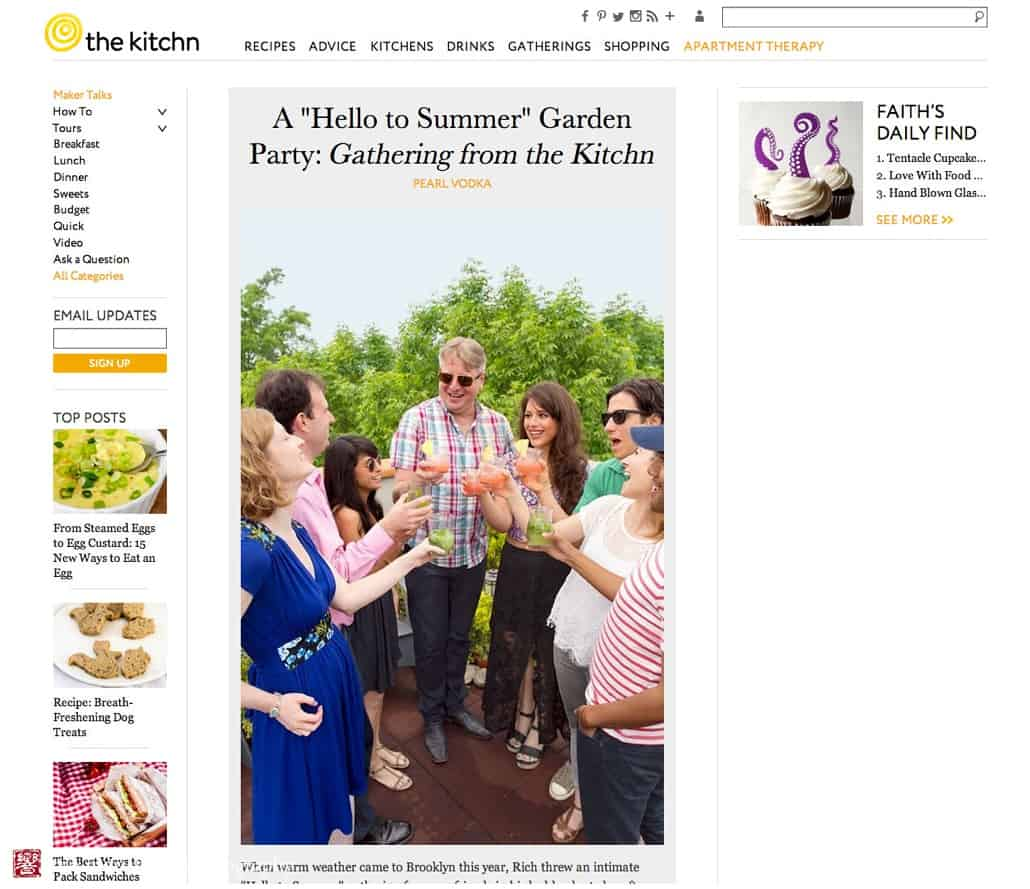 how to plan an easy awesome summer outdoor party from