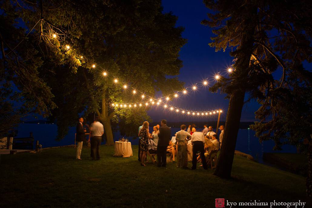 Outdoor Wedding String Lights Outdoor wedding string lights photographed by kyo morishima on outdoor wedding string lights photographed by kyo morishima on shores of lake geneva wi workwithnaturefo