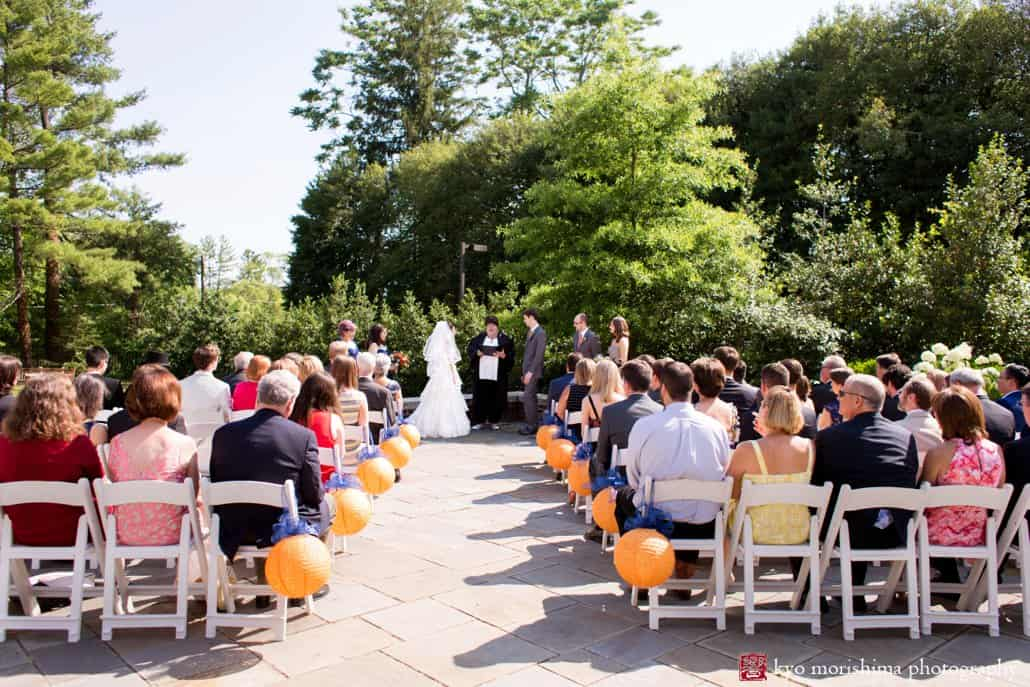 Summer Cap And Gown Club Wedding In Princeton