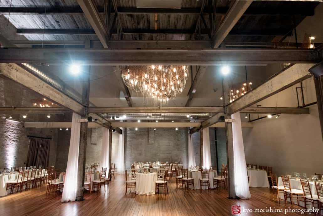 Front And Palmer Wedding Reception Wide Shot Of The Room Photographed By Kyo Morishima