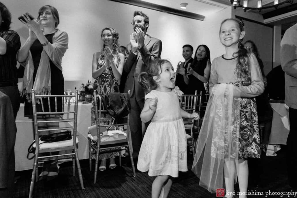 Kids react with glee during Cherry Valley Country Club first dance