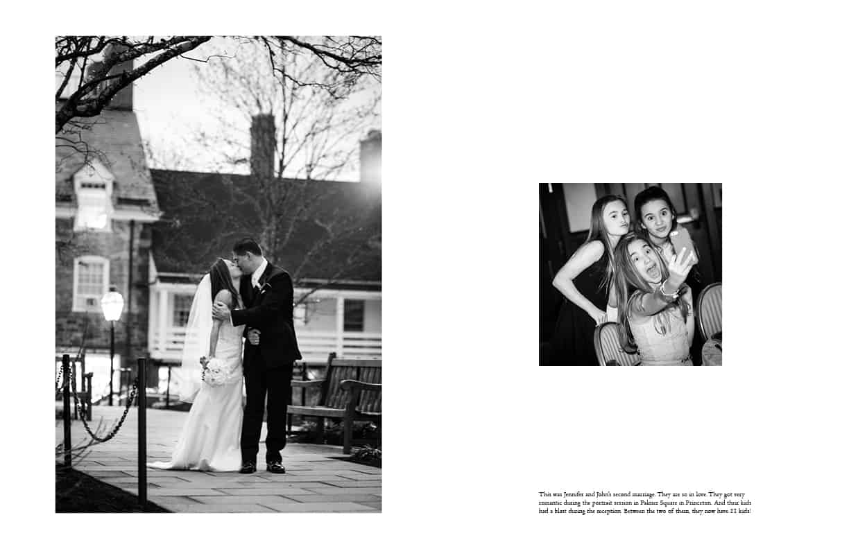 March wedding reception at the Nassau Inn in Princeton photographed by Kyo Morishima