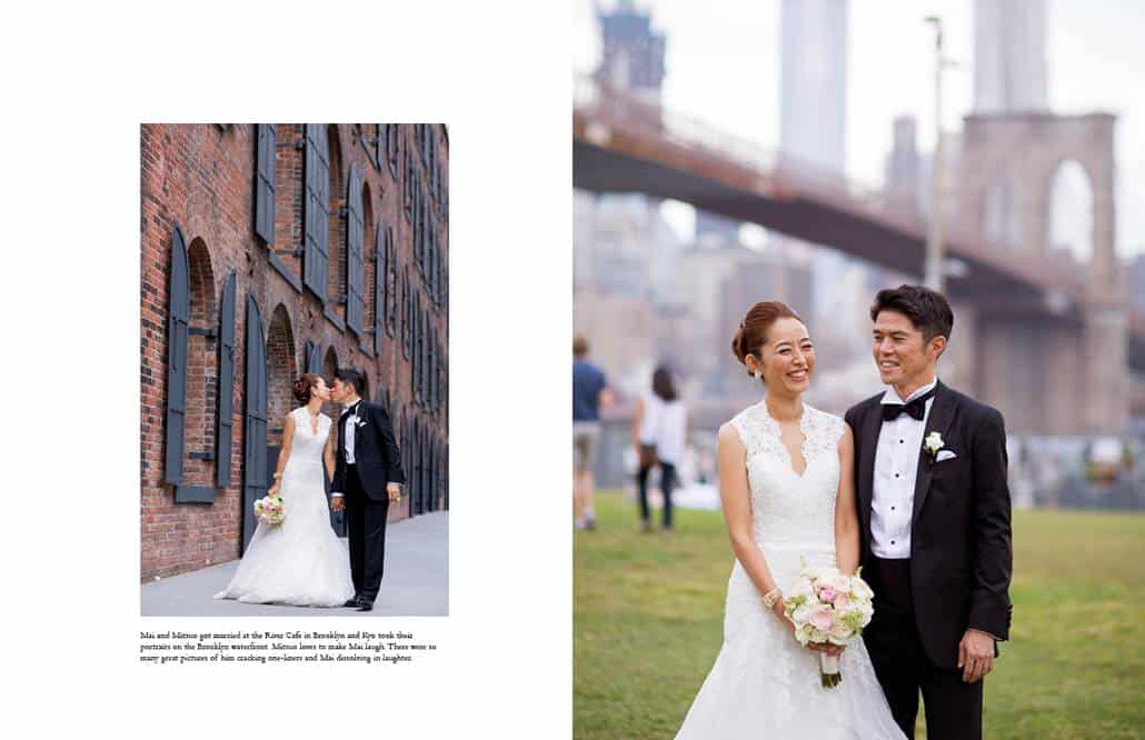 Japanese wedding portraits in Brooklyn