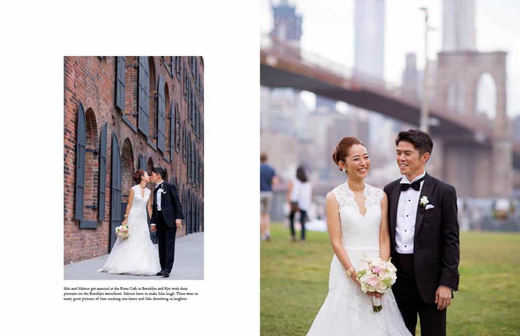 Japanese wedding portraits in Brooklyn