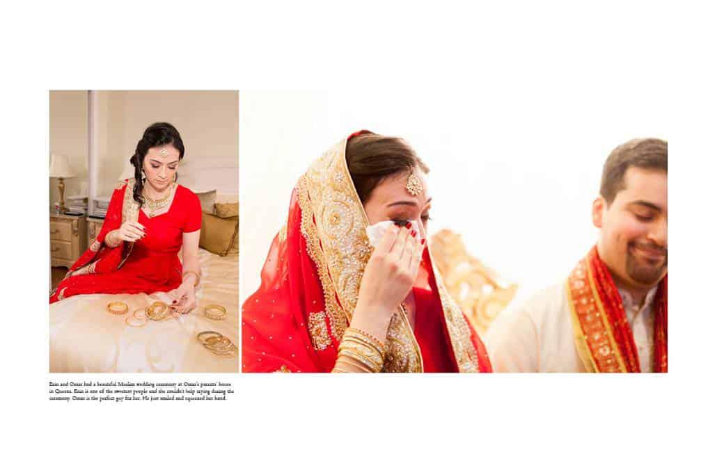 Muslim wedding ceremony in Queens photographed by Kyo Morishima