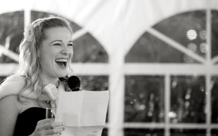 speech New Leaf Restaurant wedding reception Fort Tryon Park nyc