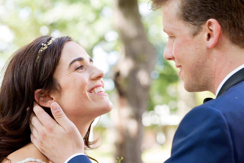 Governors Island wedding portrait NYC