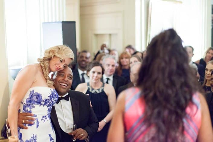 made of honor speech during reception at lotos club