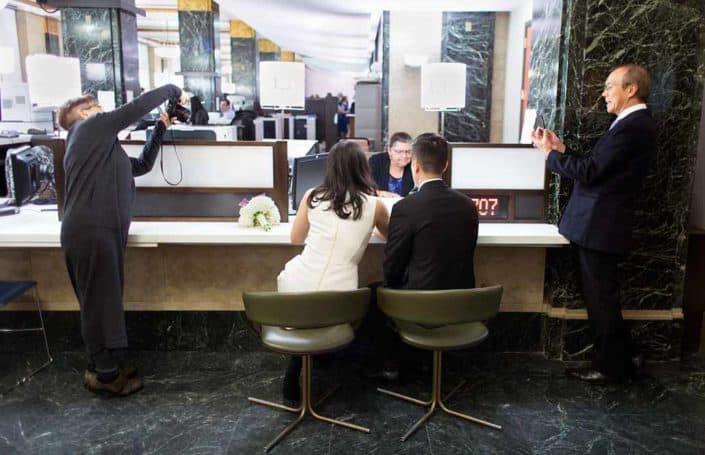 NYC city clerk office elopement wedding registration